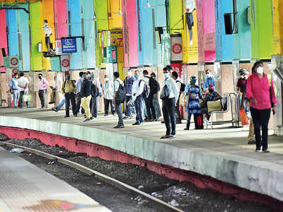 Controlled entry at Churchgate station soon