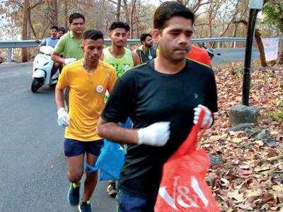 Now, keep Amdavad clean while staying fit