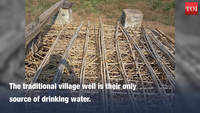 Villagers lock up open well to ration water in Karnataka