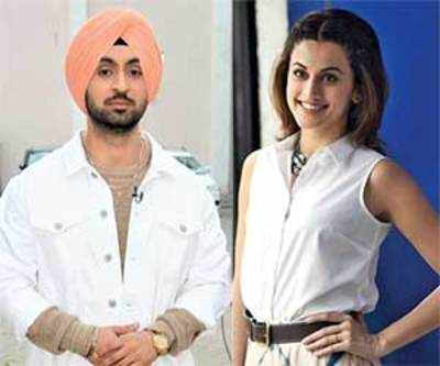 Taapsee Pannu to feature opposite Diljit Dosanjh in the Shaad Ali-directed Sandeep Singh biopic