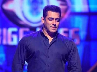 Photo: Salman Khan shoots for Bigg Boss 14 promo