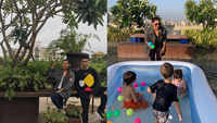 Gauri Khan's adorable picture playing with AbRam and Karan Johar's twins is unmissable!