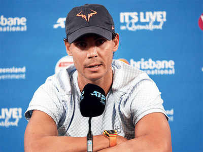 Rafael Nadal pulls out of Brisbane International with thigh problem