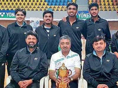 Gujarat shuttlers pick silver
