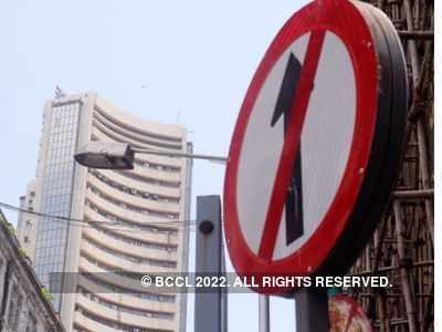 Sensex falls by over 200 points on COVID-19 woes