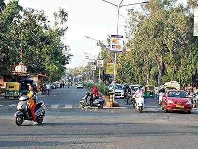 Good moo-ve: Cow no more on CG Road