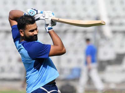 Mumbai Indians skipper Rohit Sharma training non-stop, nearing match fitness