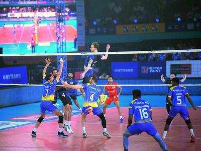 Pro Volleyball League: Ahmedabad Defenders suffer another close loss