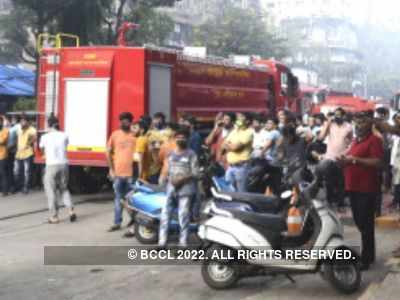 Mumbai: Fire breaks out at high-rise in Powai, no casualties