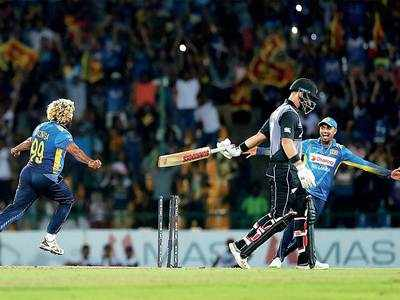 Lasith Malinga creates T20 history, claims four wickets off four balls