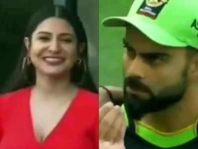 Watch: Virat Kohli asks Anushka Sharma if she has eaten from the field; their mid-match convo wins the internet