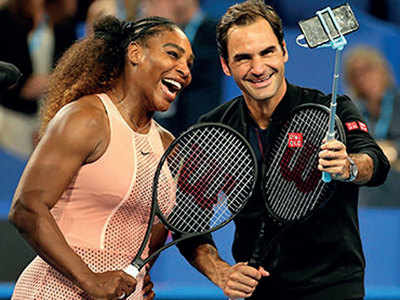 Federer beats Serena in historic clash