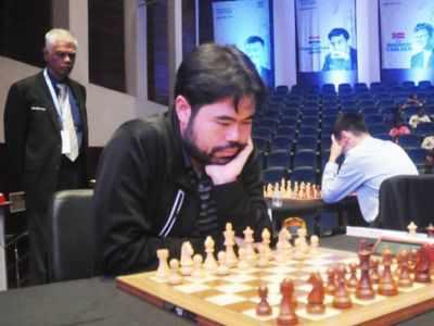 Blow for blitz king Hikaru Nakamura as Ding Liren takes lead