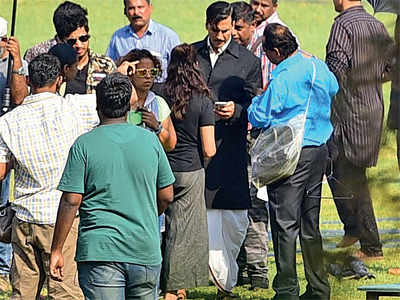 Spotted: Akshay Kumar shoots for Gold at Wadala cricket ground