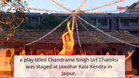 Chandrama Singh play delights Jaipurites