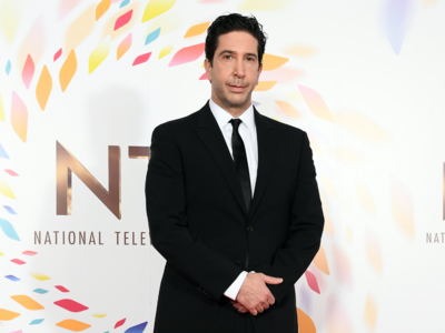 The one where it's David Schwimmer's birthday