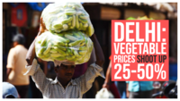 Delhi: Vegetable prices shoot up 25-50% in Azadpur Mandi