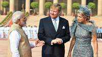 Netherlands King Willem-Alexander, Queen Maxima in Delhi