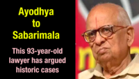 Ayodhya to Sabarimala: This 92-year-old lawyer has argued historic cases