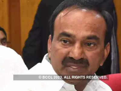 Telangana health minister Eatala Rajender lashes out at Centre, blames PM Modi for less capacity