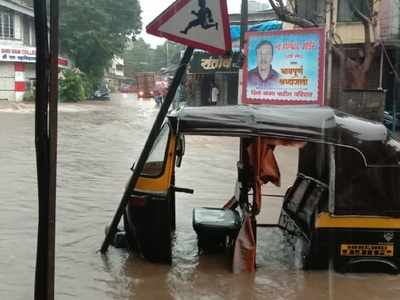 Mumbai Rains: Red alert in the city, adjoining Thane; overnight heavy showers lead to waterlogging; trains, traffic affected