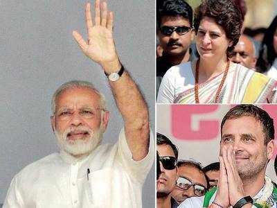 Modi, Rahul, Priyanka to turn up poll heat in State next week