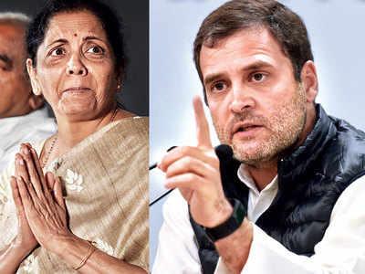Prove HAL orders or quit: Rahul dares Sitharaman