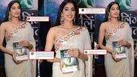 Janhvi Kapoor gets trolled for holding book upside down at its launch event