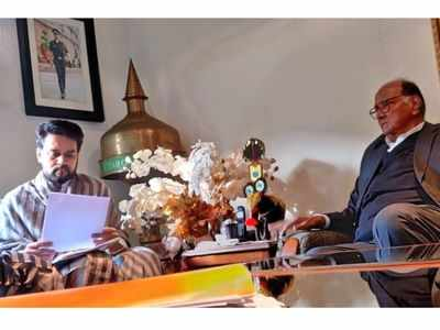 PMC Bank scam: Sharad Pawar meets Anurag Thakur along with depositors from Mumbai, discusses the revival of the bank