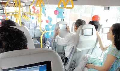 BMTC to entertain you on buses to/from Bengaluru airport