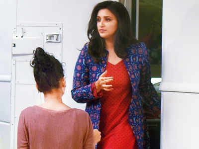 Spotted: Parineeti Chopra in Goregaon