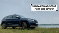Skoda Kodiaq Scout first ride review
