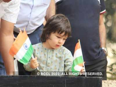 In photos: Taimur Ali Khan looks adorable as he celebrates Republic Day