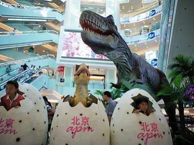 Real life Jurassic Park found in China