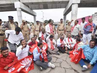 Bandh against K Chandrashekhar Rao begins in Telangana, affects normal life