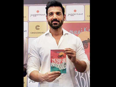John Abraham launches Murali K Menon's book The God who Loved Motorbikes