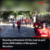 Bengalureans participate in this early morning marathon