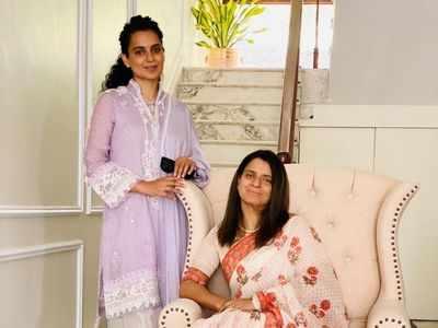 Kangana Ranaut turns interior designer for sister Rangoli Chandel's home in Kullu