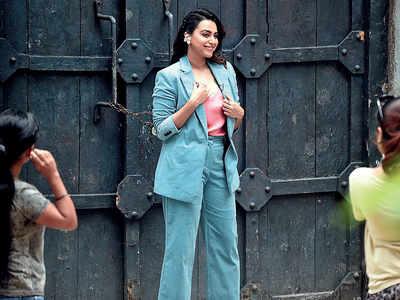 Before lockdown, Swara Bhasker spotted outside a studio