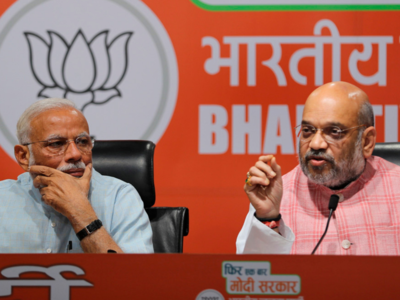 PM Modi's 'first press conference' in 5 years sees only Amit Shah answering questions
