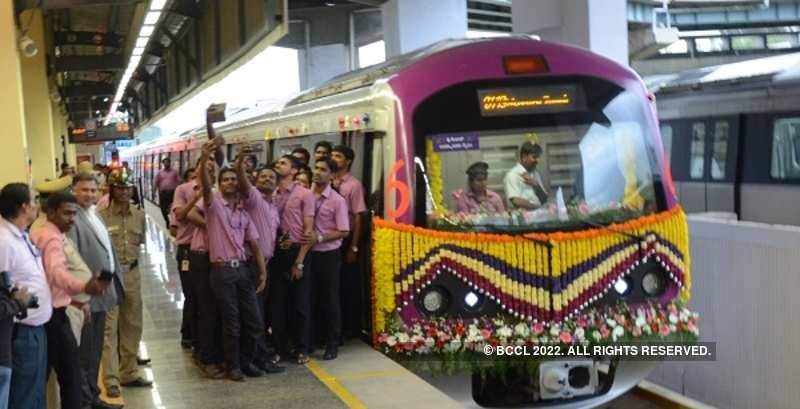 Bengaluru metro introduces three more coaches​