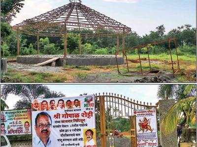 Charkop residents say MP Gopal Shetty attempting to take over open space in the guise of 'beautification'