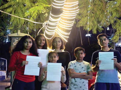 Indiranagar kids protect trees from a slow death
