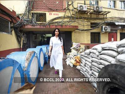 Spotted: Mallika Sherawat in Mumbai
