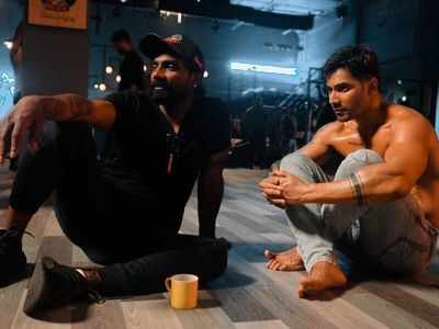 Varun Dhawan breaks down on the sets of Street Dancer. Here's why?