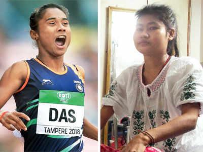 Mirror image: Tale of 2 athletes