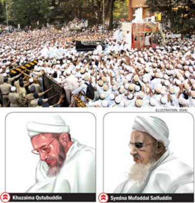 Battle for Bohra spiritual head's seat splits families
