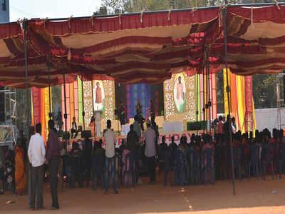 Drama at Mohammed Haris Nalapad's Birth-day celebrations