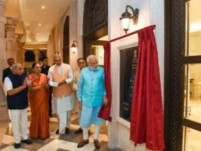 PM Narendra Modi inaugurates Gujarat's second state Bhawan in New Delhi