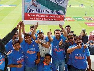 Indian fans rule Lord's